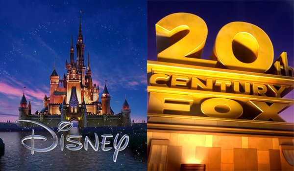 Disney and 20th Century Fox logos