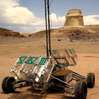 University Rover Challenge 2012 winning Mars rover from York University