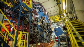 The STAR detector at Brookhaven National Laboratory detected the matter-antimatter pairs created by the colliding light.