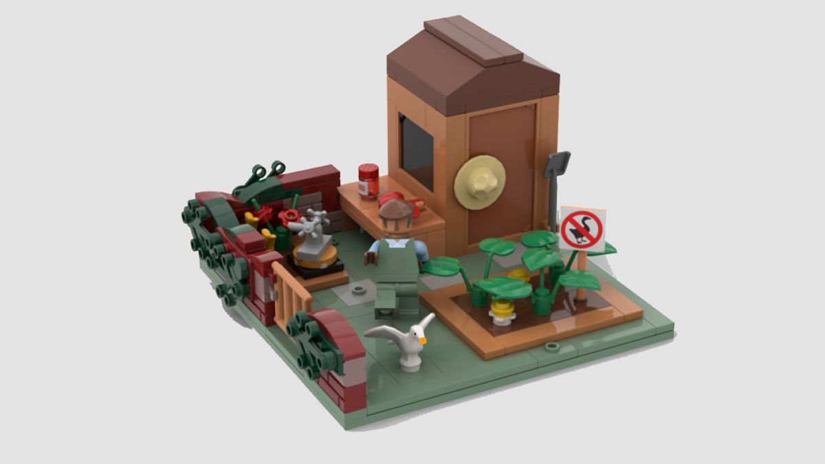 This Untitled Goose Game Lego set can become a reality if you vote for it