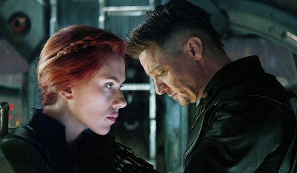 Black Widow Hawkeye Avengers: Endgame