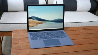 New processors provide quicker speeds and a longer runtime to the Surface Laptop 4