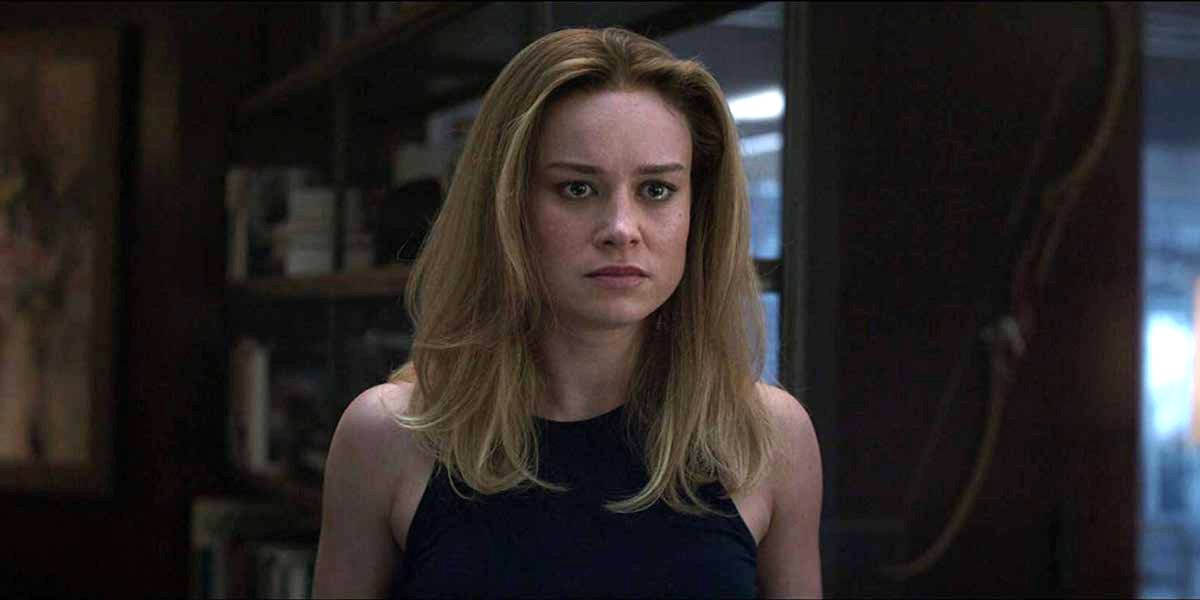 Brie Larson as Carol Danvers in Avengers: Endgame
