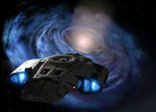 deep space nine wormhole