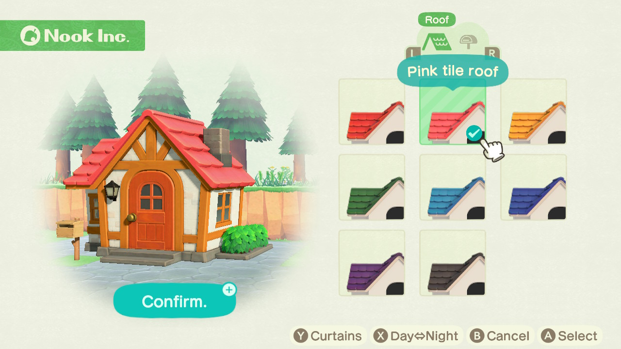 Animal Crossing New Horizons Roof Colours How To Customise Your Home Gamesradar