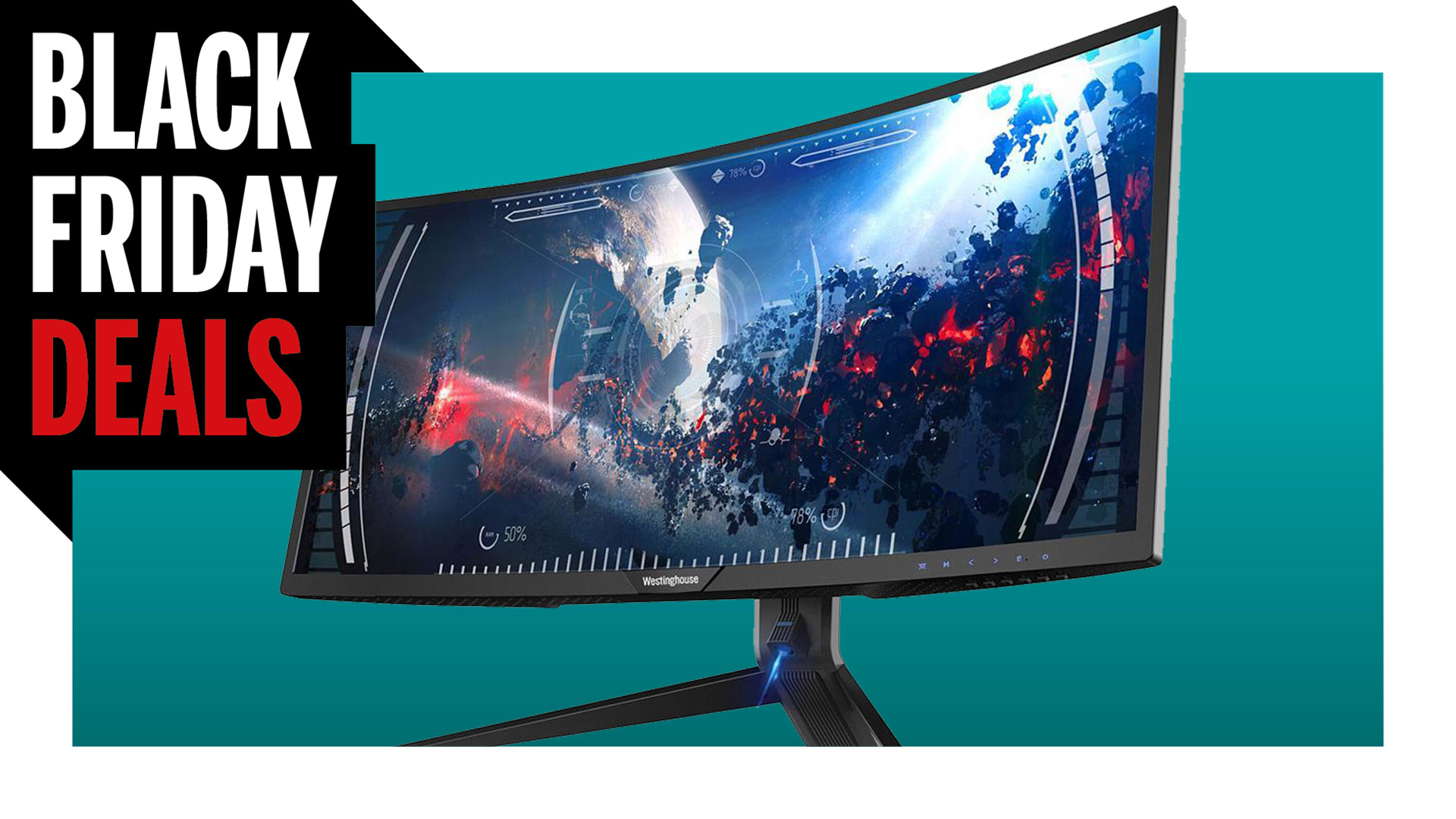 Save $120 on 34 inches of ultrawide monitor with this Black Friday deal