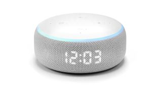 Amazon Echo Dot with Clock reduced on Black Friday