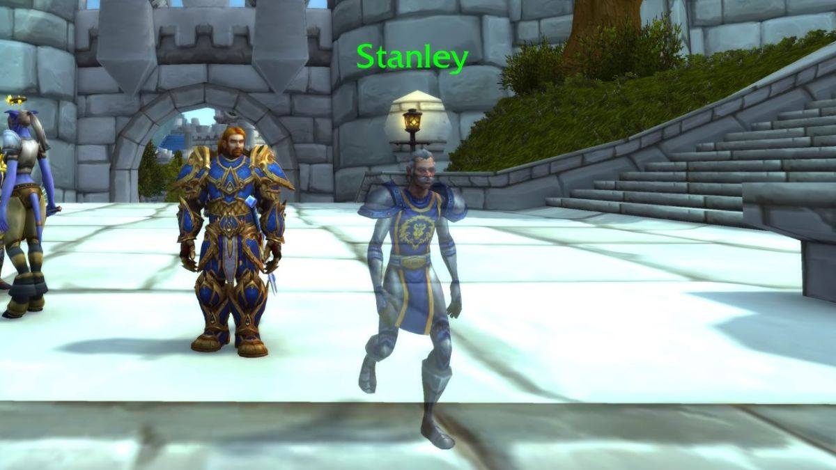 Stan Lee lives on as a new World of Warcraft NPC, complete with his trademark sunglasses