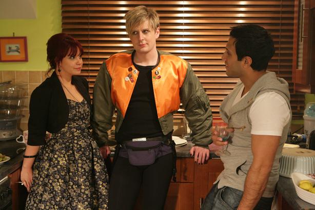 Nancy stumbles on Ravi and Kris