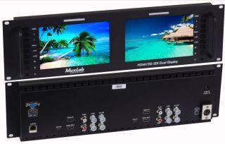 MuxLab HDMI/3G-SDI Dual Display