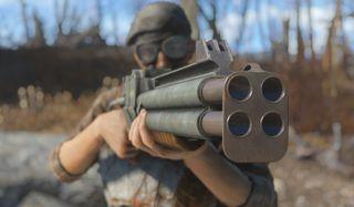 Fallout: Miami quad shotgun