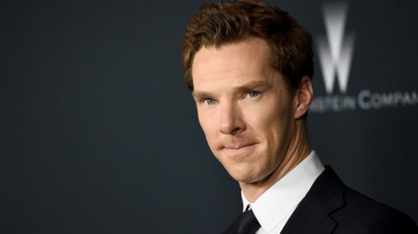 Benedict Cumberbatch at a screening