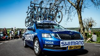 Shimano Blue support vehicles