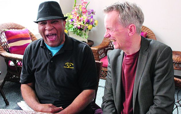Frank Skinner looks for the man behind the icon in this intimate portrait of his hero Muhammad Ali
