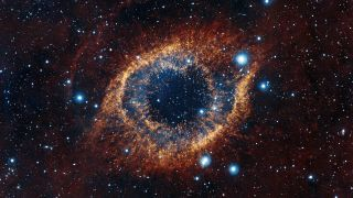 Vista S Look At Helix Nebula Space Wallpaper Space