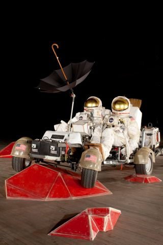 "Mars Roving Vehicle in ""Space Program: Mars"""