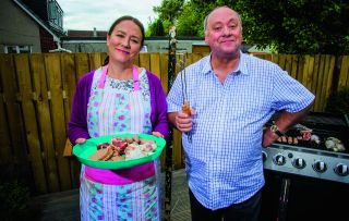 The series about close neighbours who might just be a bit too close