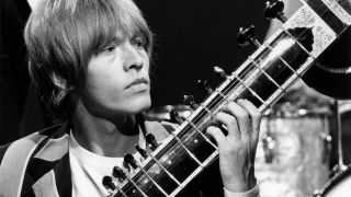 The late Rolling Stones guitarist Brian Jones