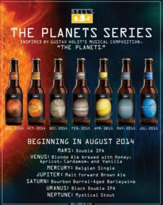 Bell's Brewery Introducing 'Planets' Beer Series