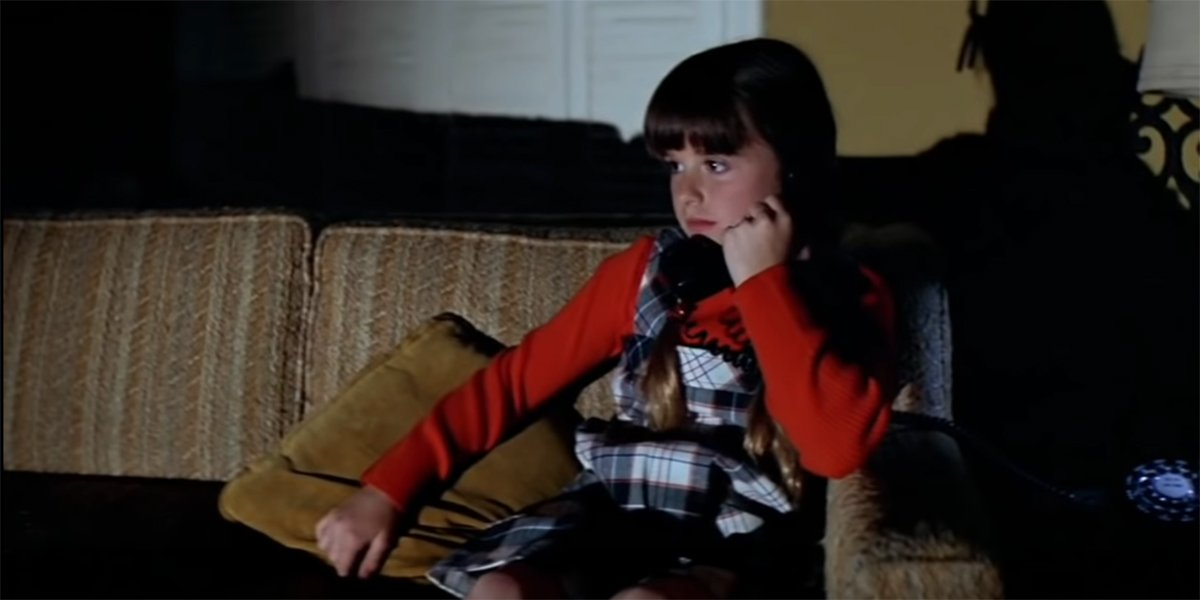 Young Kyle Richards in original Halloween movie