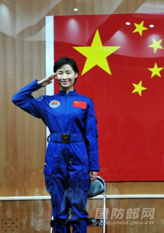 China's first female astronaut Liu Yang