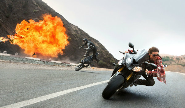Mission Impossible Rogue Nation Motorcycle chase