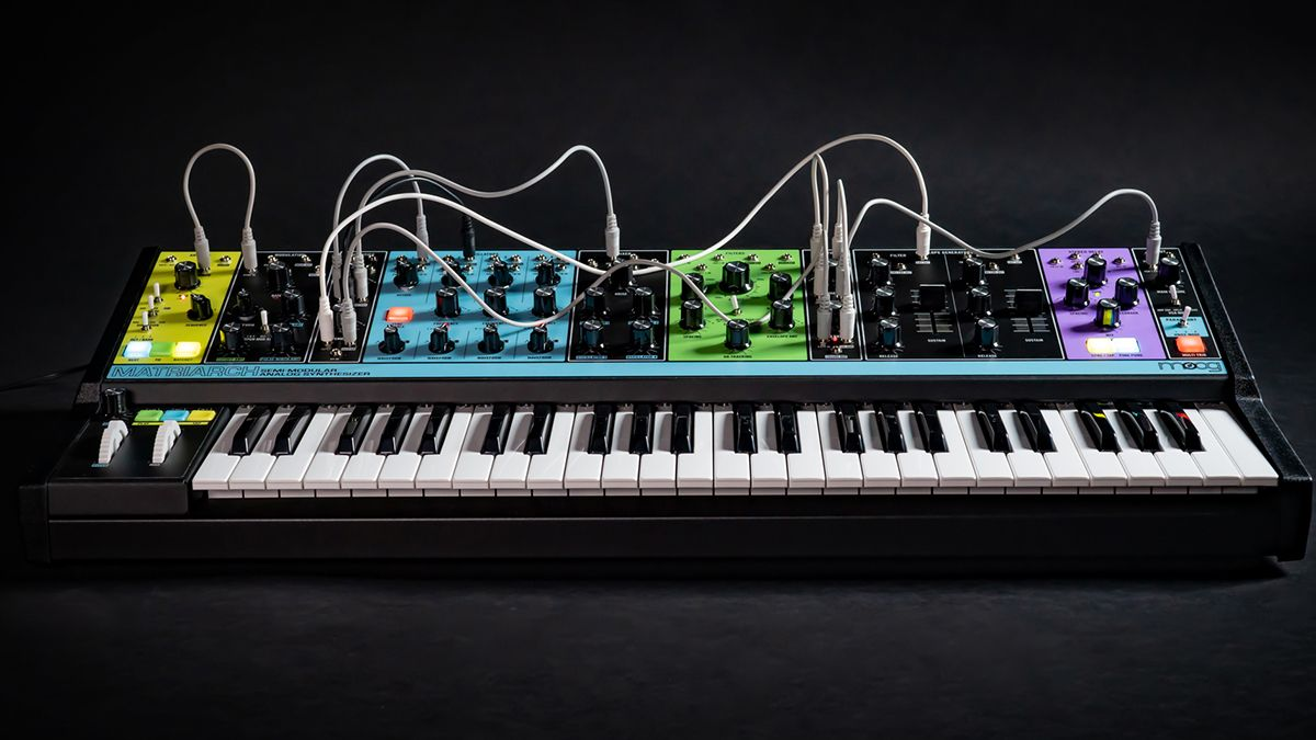 """Moog's Matriarch synth has """"left the building"""" and is heading to a music store near you"""
