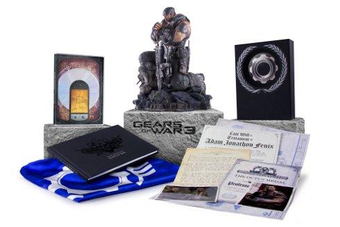 Gears Of War 3 Limited Edition, Epic Edition Unlock Adam Fenix Multiplayer Skin #17210