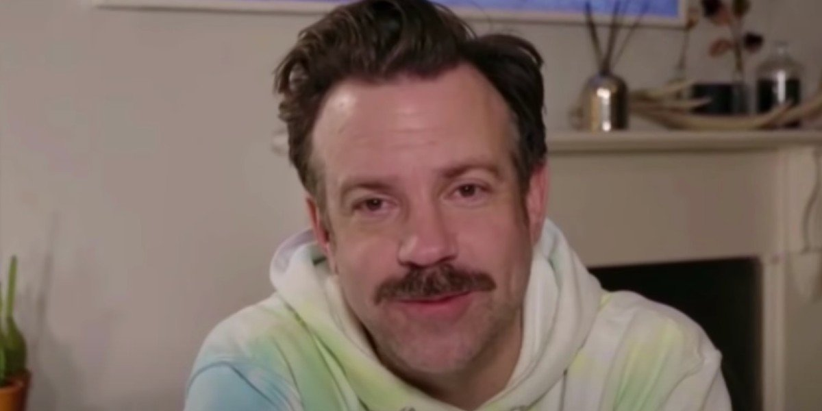 Jason Sudeikis at the 2021 Golden Globes