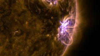 SDO Sees M-Class Solar Flare