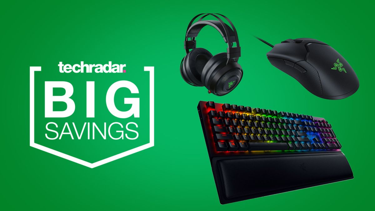 Razer PC gaming deals: save on keyboards, mice, headsets and more this weekend