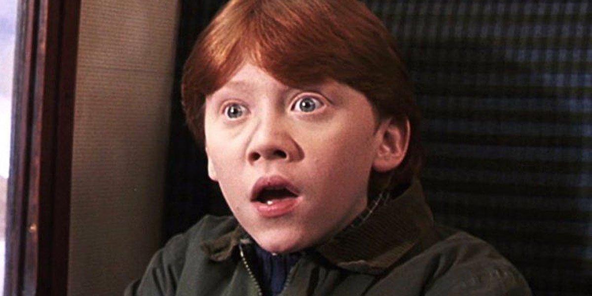 Rupert Grint as a child actor