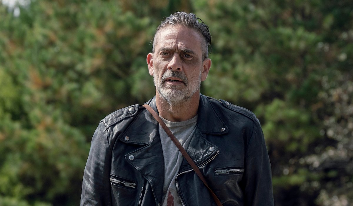 negan the walking dead after killing alpha