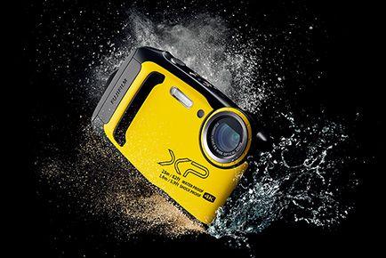 Fujifilm FinePix XP140 waterproof compact camera gets tougher