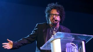 Steve Lukather speaks onstage at the TEC Awards during the 2019 NAMM Show at the Hilton Anaheim on January 26, 2019 in Anaheim, California