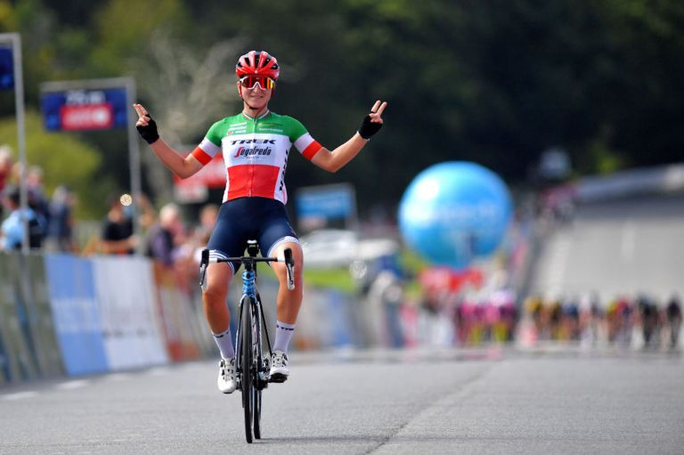Elisa Longo Borghini wins the 2021 GP Plouay, GP Lorient Agglomeration Trophée Ceratizit