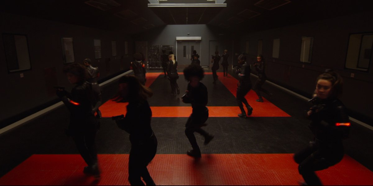 Red Room training in Black Widow