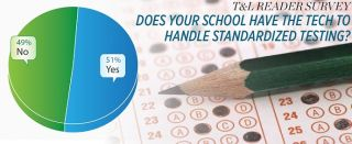 T&L Reader Survey Does Your School Have The Tech To Handle Standardized Testing