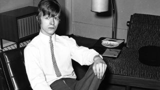 David Bowie in the mid-60s