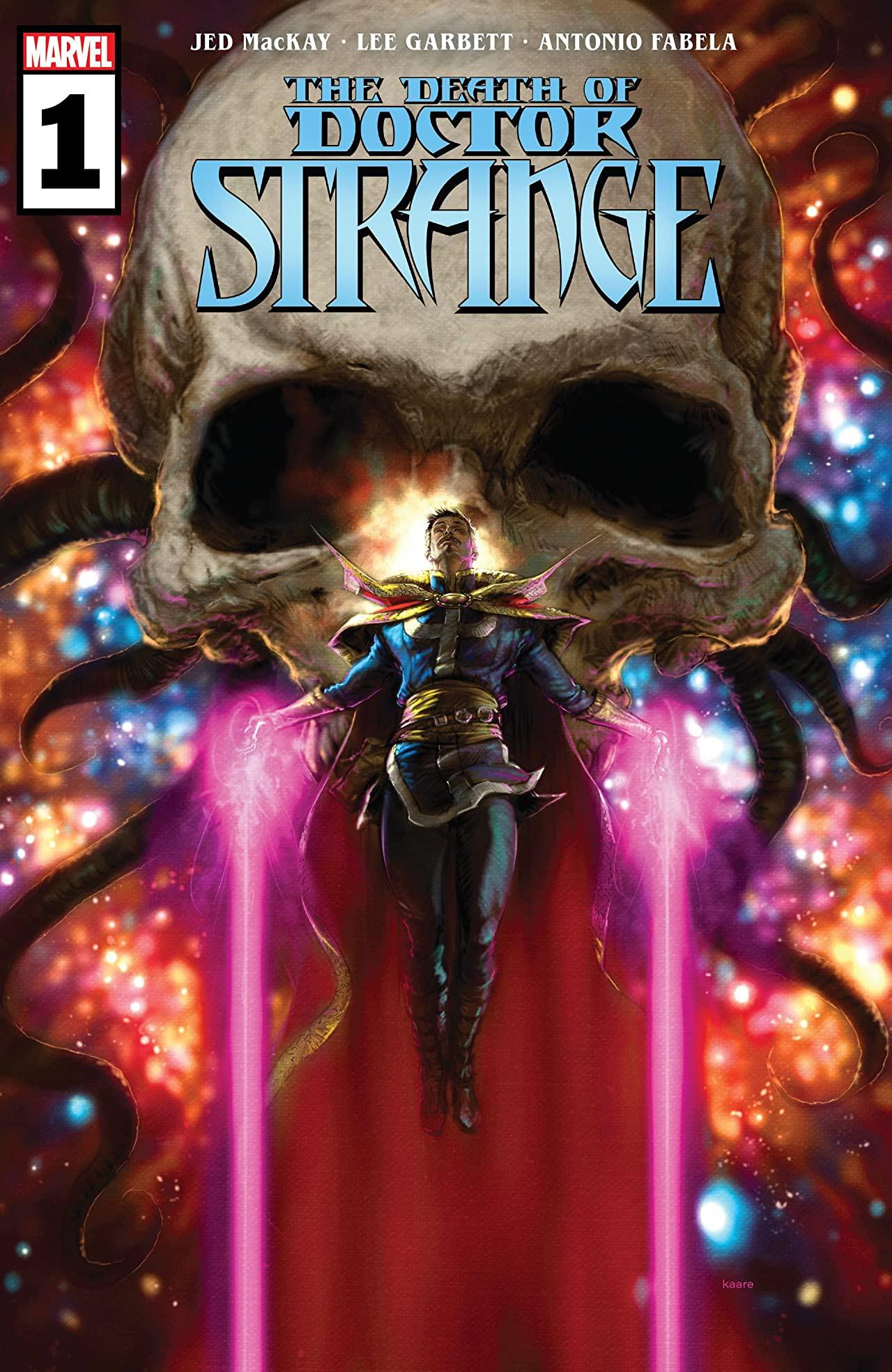 La muerte del Doctor Strange # 1