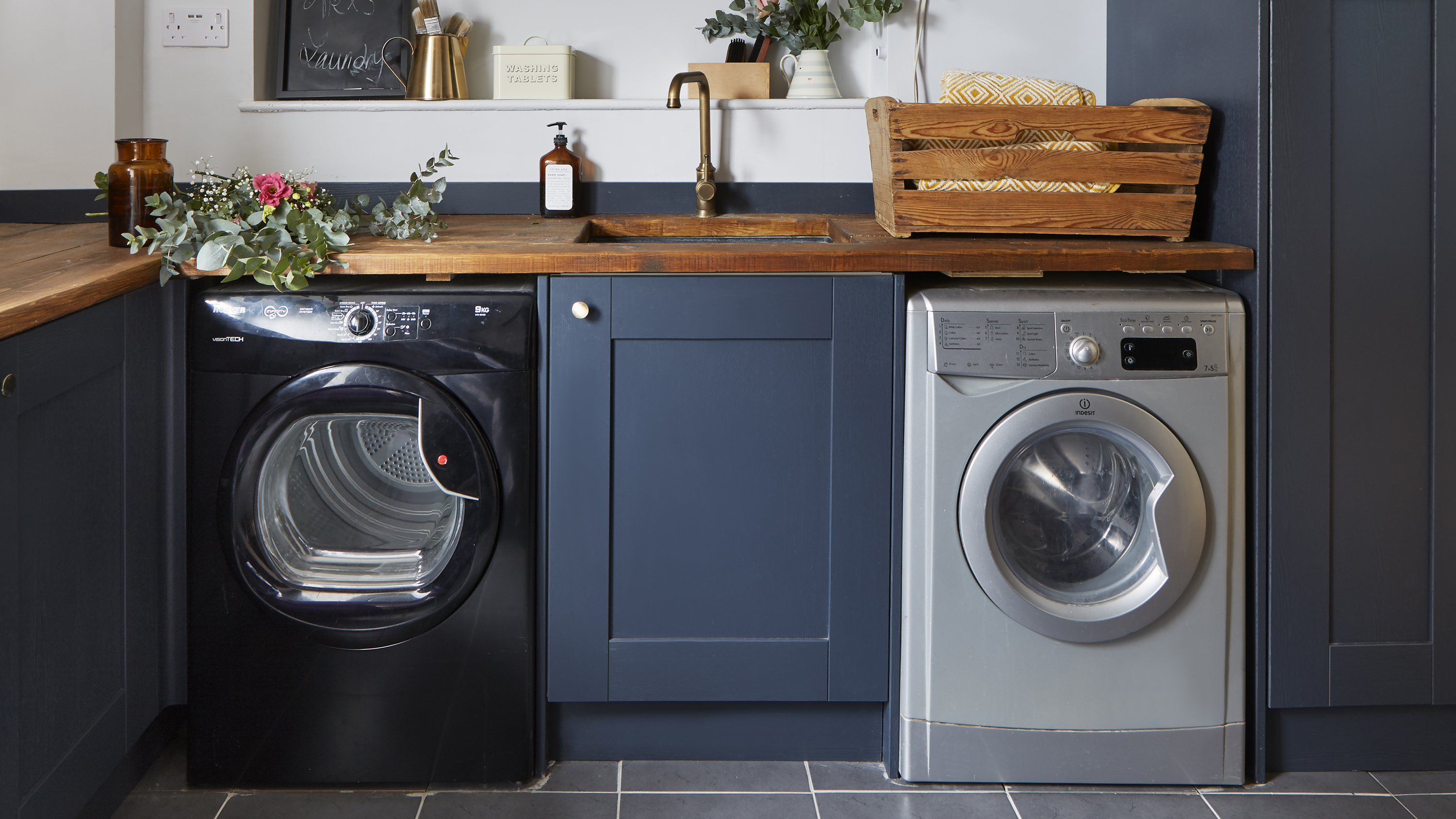 Laundry room ideas: 17 clever ways to tidy up your utility  Real
