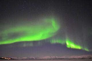 Auroras Over Sweden