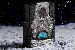 Zippo's 2019 Collectible of the Year lighter celebrates the first moon landing's 50th anniversary.