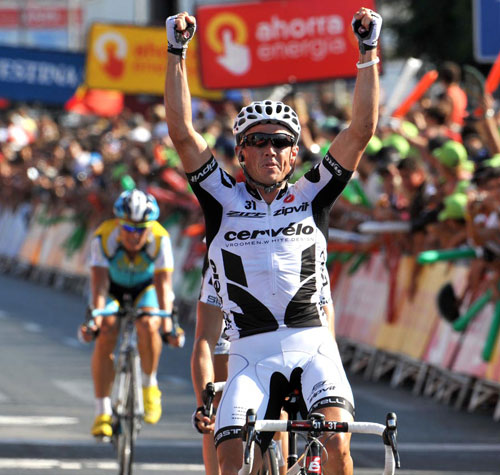 Simon Gerrans, Vuelta a Espana 2009, stage 10