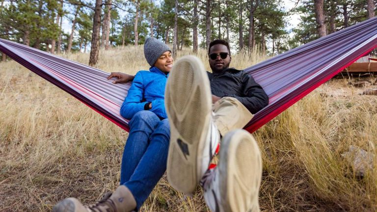 Outdoor hammock deals