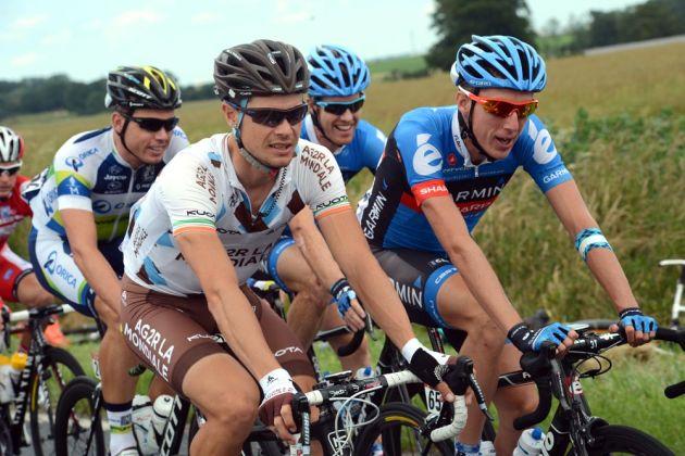 Nicolas Roche and Daniel Martin, Tour de France 2012, stage five