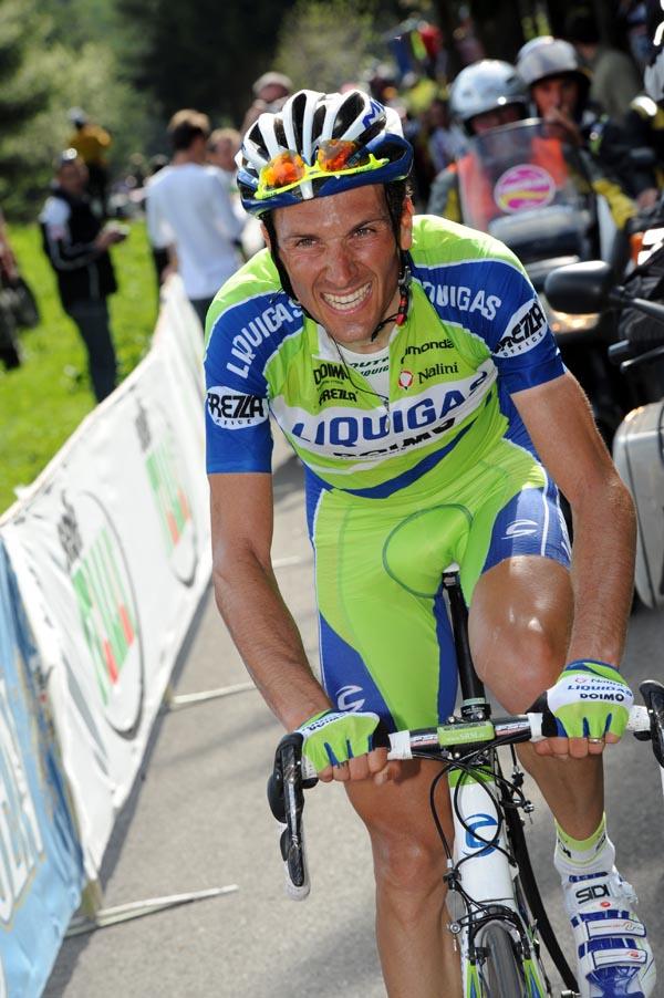 Ivan Basso, Giro d'Italia 2010, stage 15