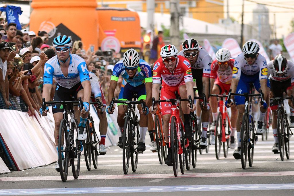 Barbier sprints to stage 1 victory at Vuelta a San Juan