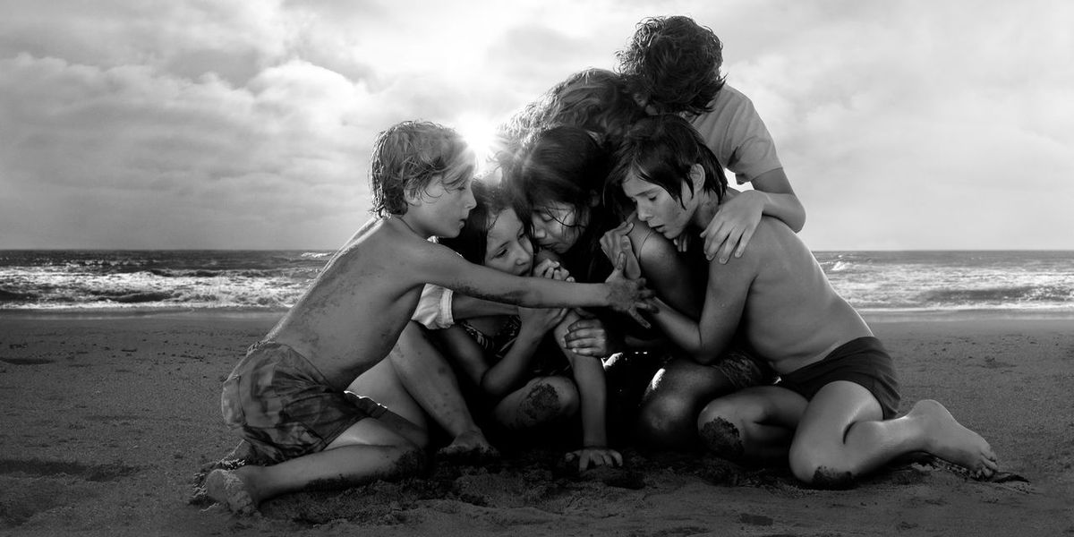 Some of the main cast of Roma.