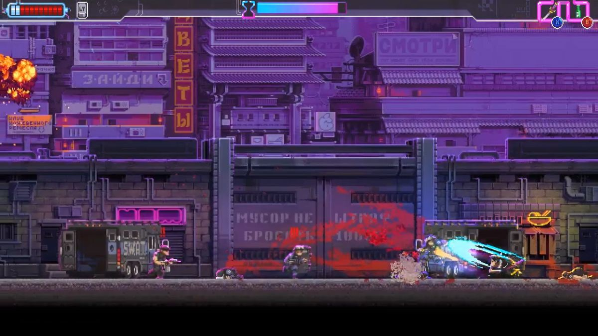 Katana Zero adds hard mode, speedrun mode in latest update | PC Gamer